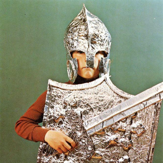 aluminum foil soldier